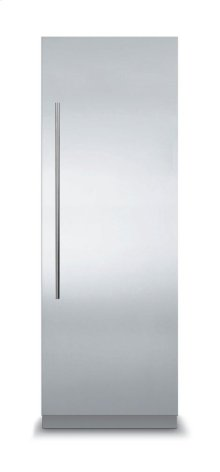 24 Virtuoso Fully Integrated All Refrigerator with 6 Series Panel, Right Hinge/Left Handle