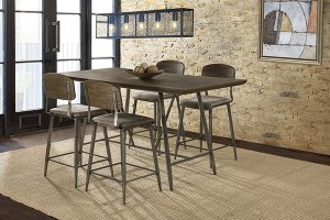 Adams 5 Piece Counter Height Dining Set