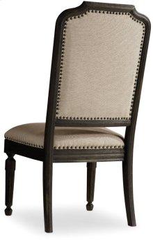 Corsica Dark Upholstered Side Chair