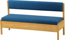Medium Storage Bench With Back