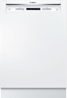 """24"""" Recessed Handle Dishwasher 300 Series- White SHE53T52UC"""