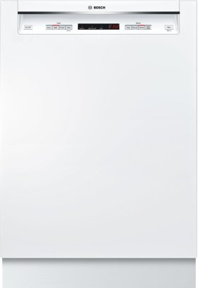 "24"" Recessed Handle Dishwasher 300 Series- White SHE53T52UC"