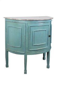 Sunset Trading Cottage Half Round Cabinet - Sunset Trading