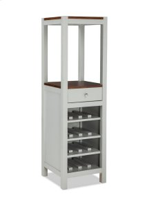 Small Space Dining Vertical Wine Cabinet Product Image