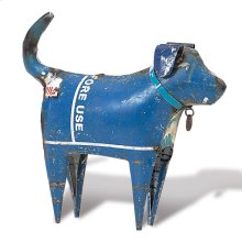Recycled Dog Standing