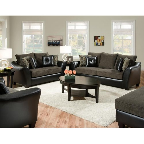 3200 Pinnacle Gray Ottoman