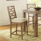 Mirabelle - Counter Height Stool - Ecru Finish Product Image