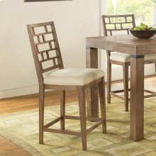 Mirabelle - Counter Height Stool - Ecru Finish