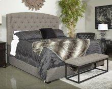 Gerlane Upholstered 2 Piece Bed Set (King) - Graphite