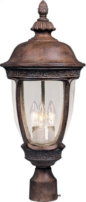 Knob Hill VX 3-Light Outdoor Pole/Post Lantern