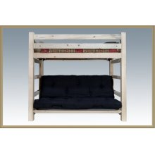 Homestead Twin Bunk Bed over Full Futon