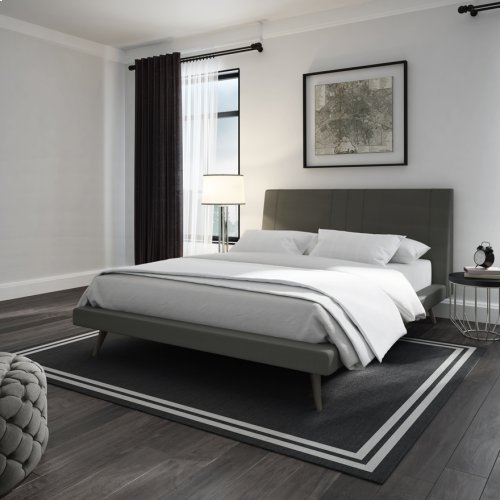 Hailey Cosmopolitan Upholstered Bed - Full