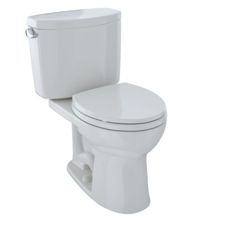 Drake® II Two-Piece Toilet, Round Bowl, 1.28 GPF - Colonial White