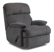 Geneva Fabric Swivel Gliding Recliner