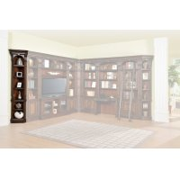Corsica Outside Corner Bookcase Product Image