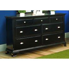 Chelsea Ebony Drawer Dresser