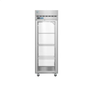 HoshizakiPT1A-FG-FG, Refrigerator, Single Section Pass Thru Upright, Full Glass Door with Lock