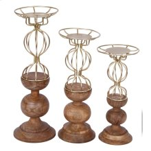S/3 Candle Holders
