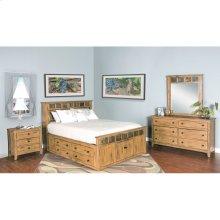 """Sedona Queen Storage Bed 66"""" X 96"""" X 54"""" H"""