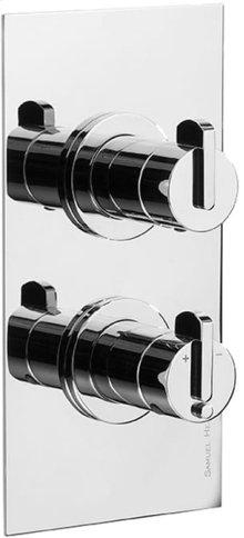 Chrome Plate Trim set for V134-AIS thermostatic valve