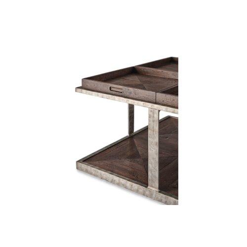 Quattor Cocktail Table, Dark Echo Oak