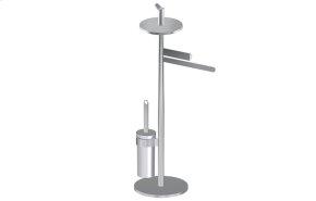 Free Standing Tissue Holder,Toilet Brush Holder & Towel Bar