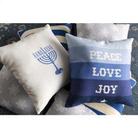 """Peace Love Joy HDY-077 18"""" x 18"""""""