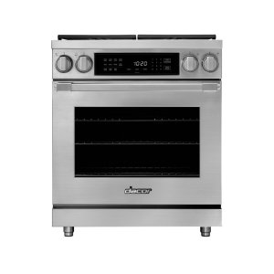 "DACOR36"" Heritage Dual Fuel Pro Range, Color Match, Liquid Propane"