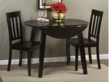 Simplicity Table & 2 Slat Back Chairs