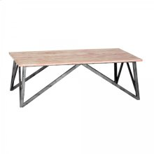 Regis Pine Top Coffee Table