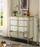Mirrored 3 Drawer Console Product Image