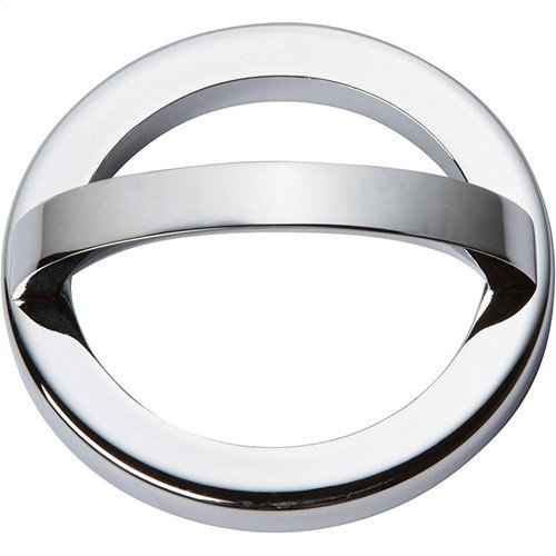 Tableau Round Base and Top 2 1/2 Inch - Polished Chrome
