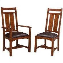 Oak Park Wide Slat Arm Chair