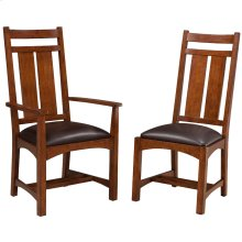 Oak Park Wide Slat Arm Chair