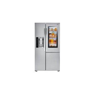 22 cu.ft. Smart wi-fi Enabled InstaView Door-in-Door® Counter-Depth Refrigerator - STAINLESS STEEL