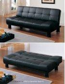 Futon/Sofa, Black PU Product Image