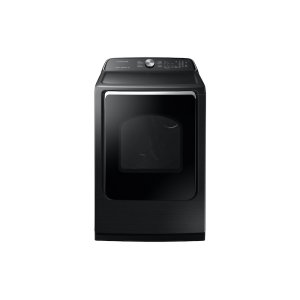 SamsungDV7200 7.4 cu. ft. Electric Dryer with Steam Sanitize+ in Black Stainless Steel