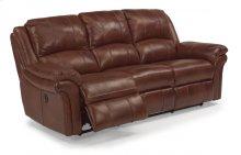 Dandridge Leather Power Reclining Sofa