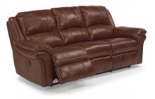 Dandridge Leather Power Reclining Sofa