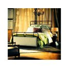 Upholstered Metal Queen Bed Product Image