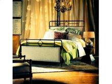 Upholstered Metal King Bed