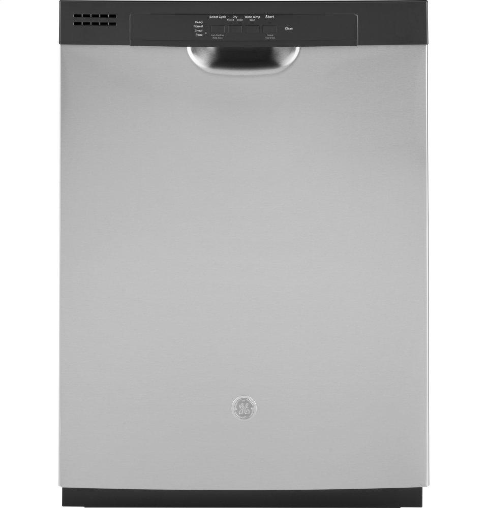 GE(R) Dishwasher with Front Controls