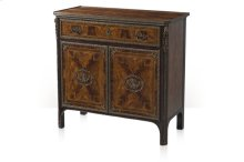 Flourish Decorative Chest - Mahogany Finish