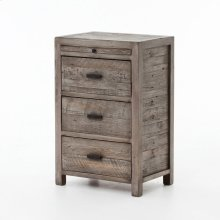 Rustic Black Olive Finish Caminito Nightstand