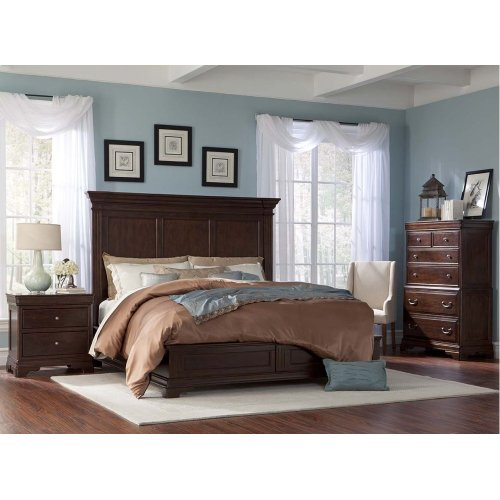 Provence Storage Panel Bed