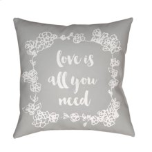 "Love All You Need QTE-044 18"" x 18"""