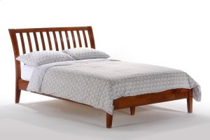 Nutmeg Bed in Cherry Finish