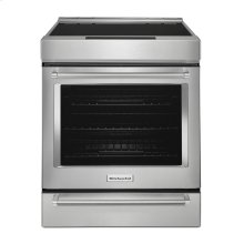 30-Inch 4-Element Induction Slide-In Convection Range with Baking Drawer - Stainless Steel