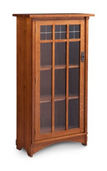 Bungalow 1-Door Bookcase