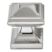 Wadsworth Knob 1 1/4 Inch - Polished Chrome